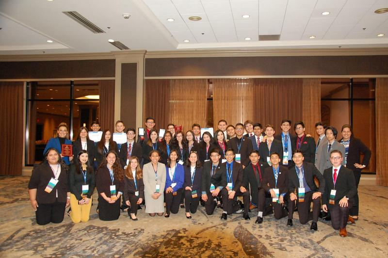 Rembrandt Secondary DECA students receive finalist awards and recognition during their State Competition. Featured Photo