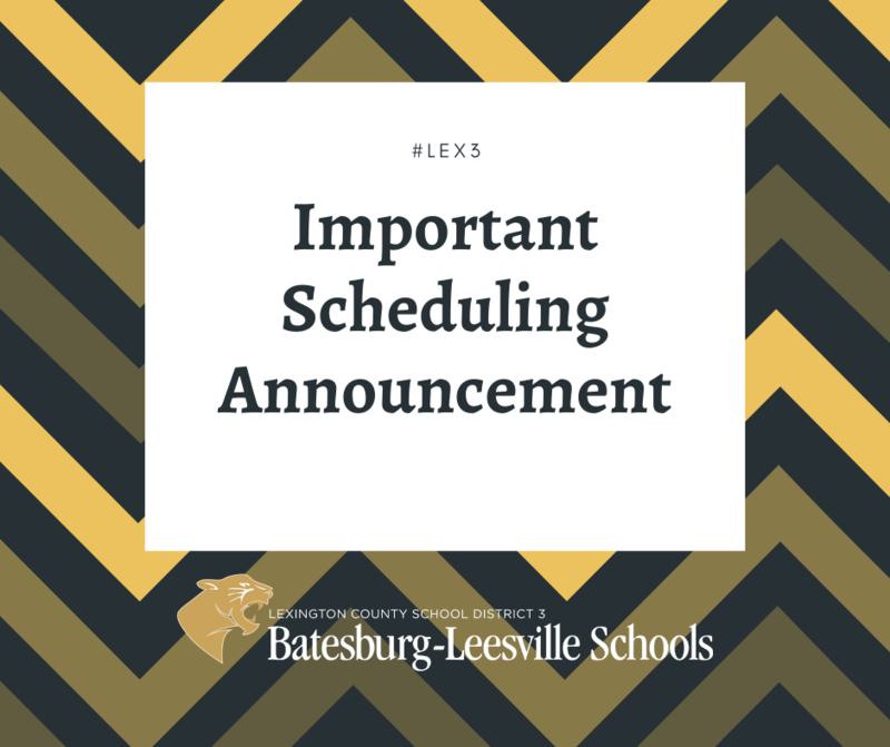 Batesburg-Leesville High School To Remain On 4-Days-Per-Week, In-Person Schedule