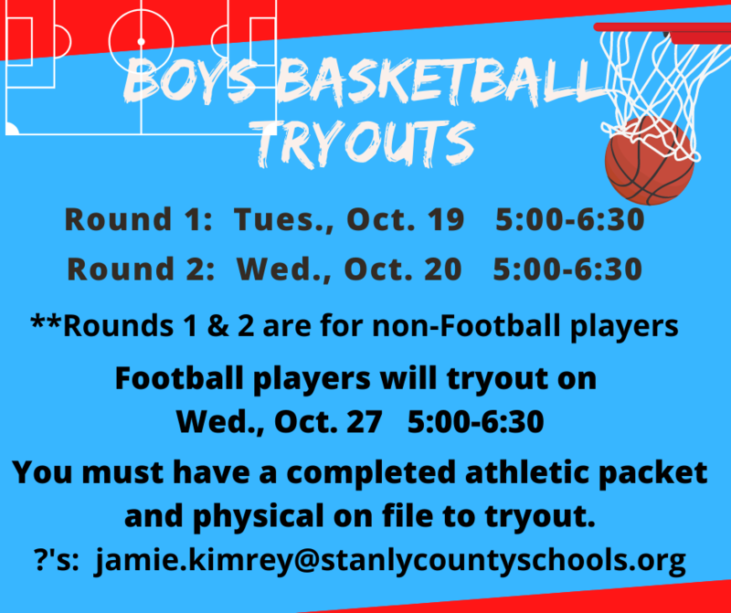 Boys Basketball Tryouts Featured Photo