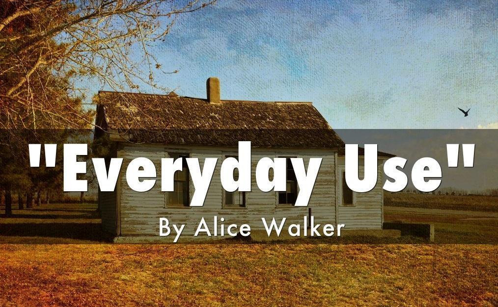 Everyday Use Short Story Book Image