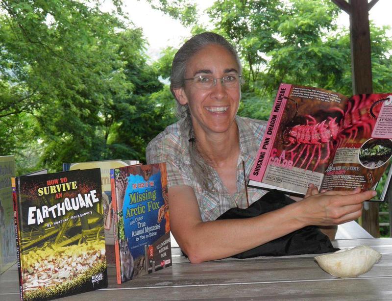 Author Heather Montgomery