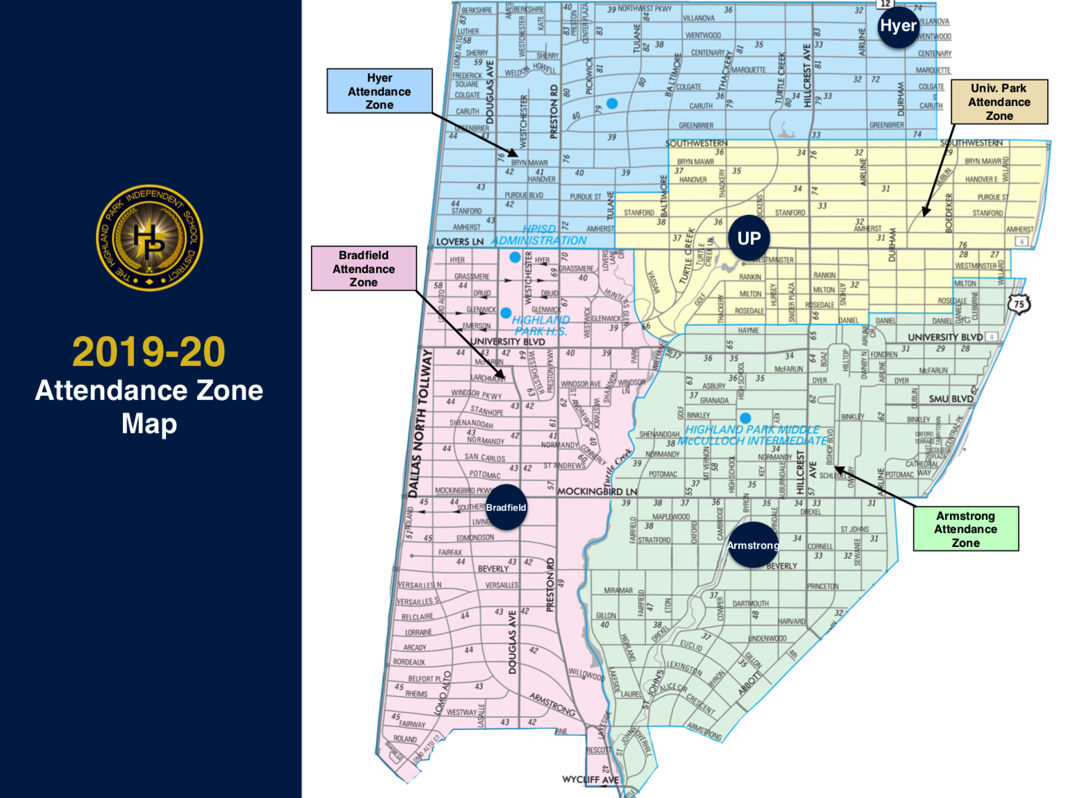 2019-20 boundary zone map