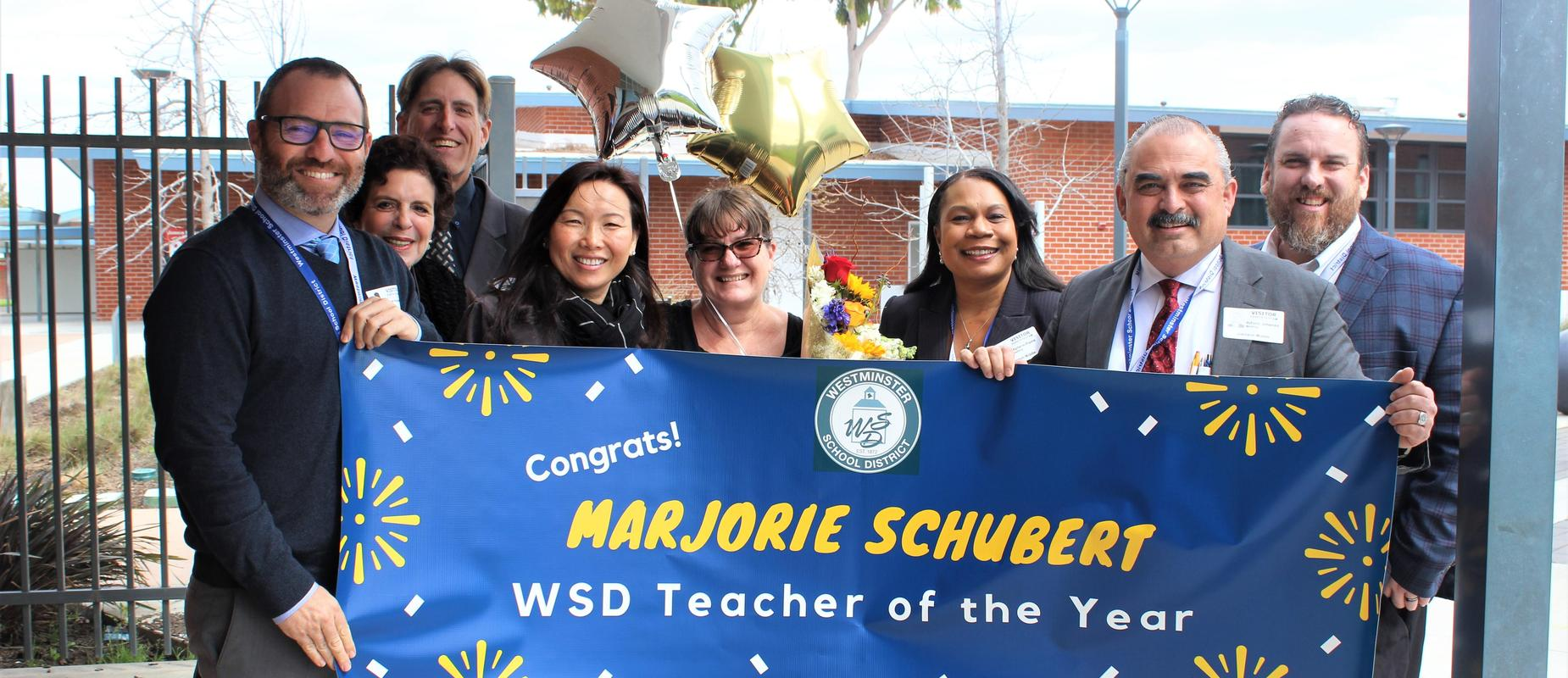 WSD Teacher of the Year