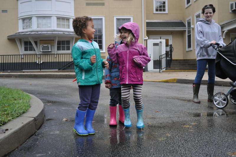 Puddle Jumping Featured Photo