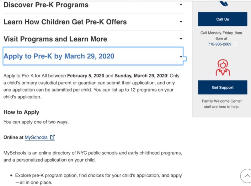 Pre-Kindergarten Registration Deadline - April 7, 2021* Thumbnail Image