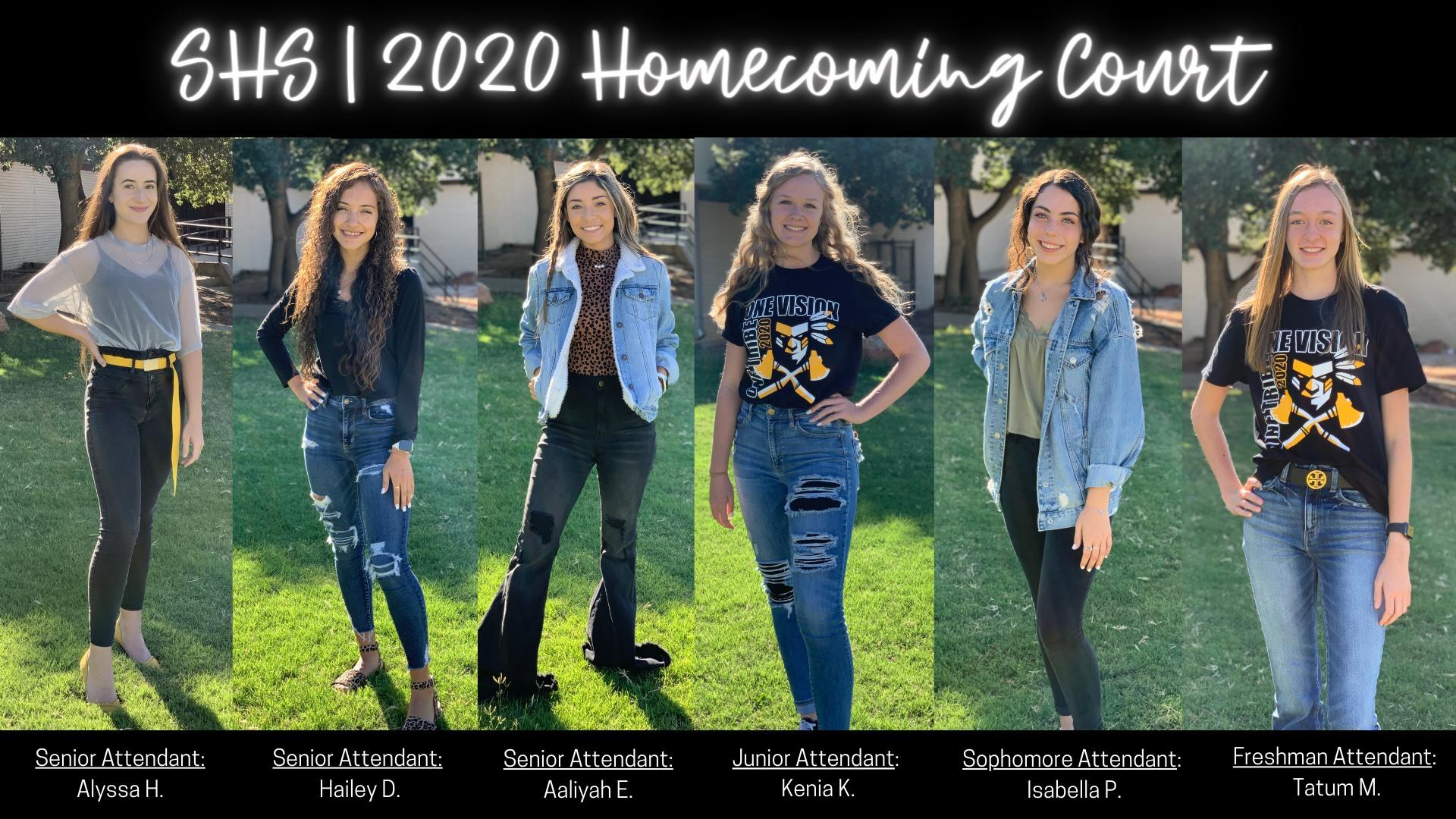 HS Homecoming Court