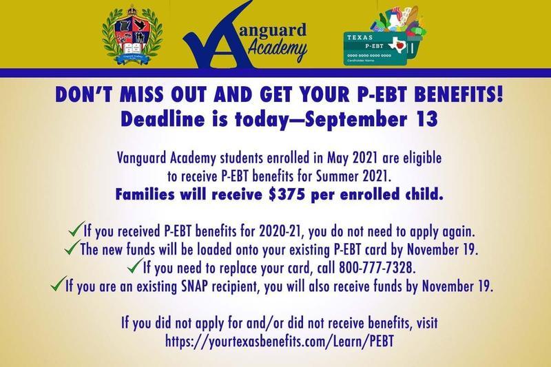P-EBT Benefits / Beneficios P-EBT Featured Photo