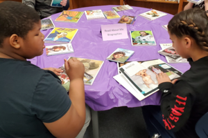 students take part in legacy book tasting
