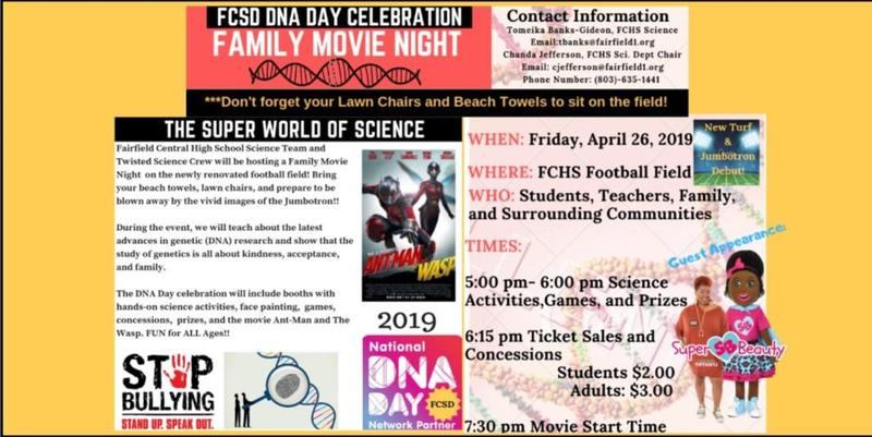 DNA DAY Flyer