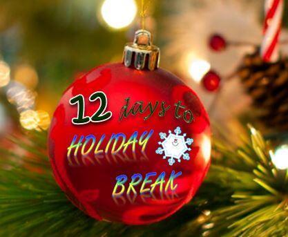 12 days to holiday break