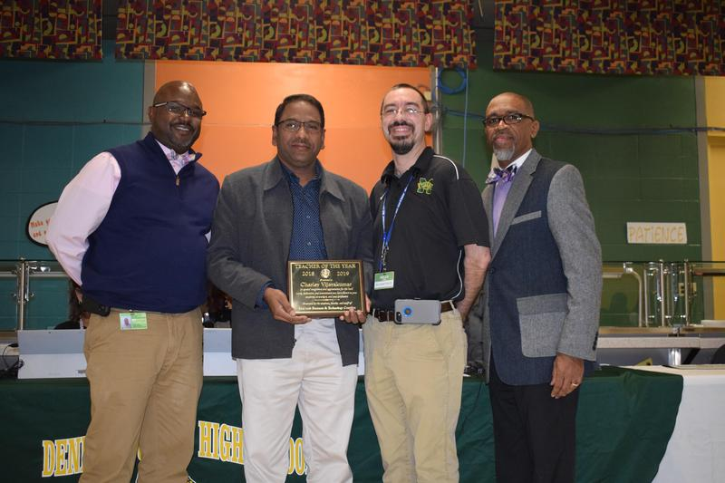 McComb School District Recognizes Charley Vijayakumar as the Business and Technology Complex Teacher of the Year