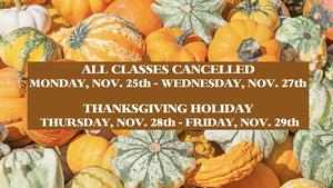 Thanksgiving Hours Flyer