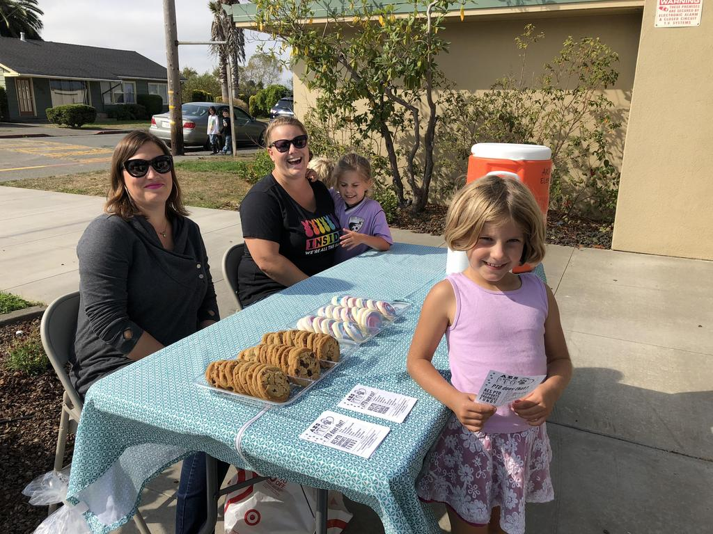 PTO welcoming families