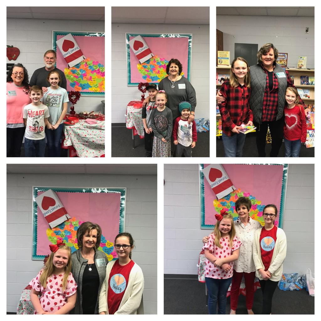Grandparent Day in the library 2019