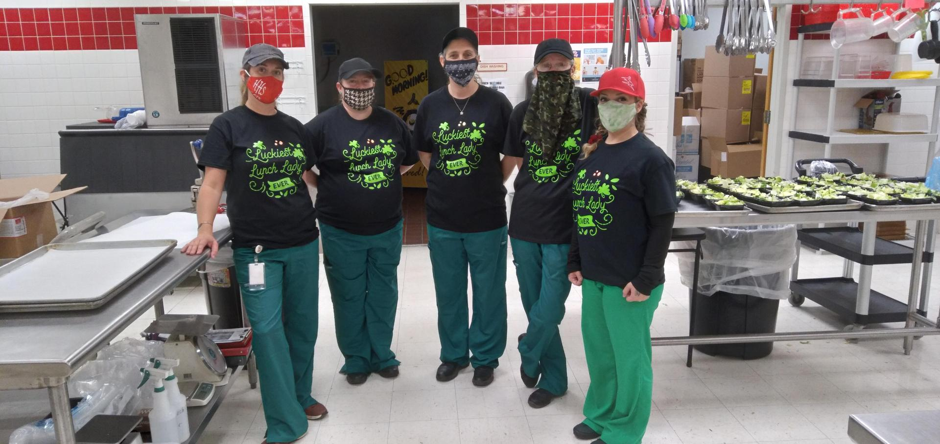St. Patrick's Day at HS