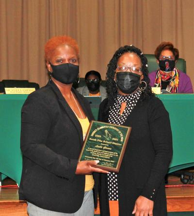 2020-21 Classified Staff of the Year -- Mrs. Leola Givens