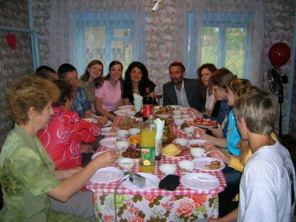 Tea party in Russia