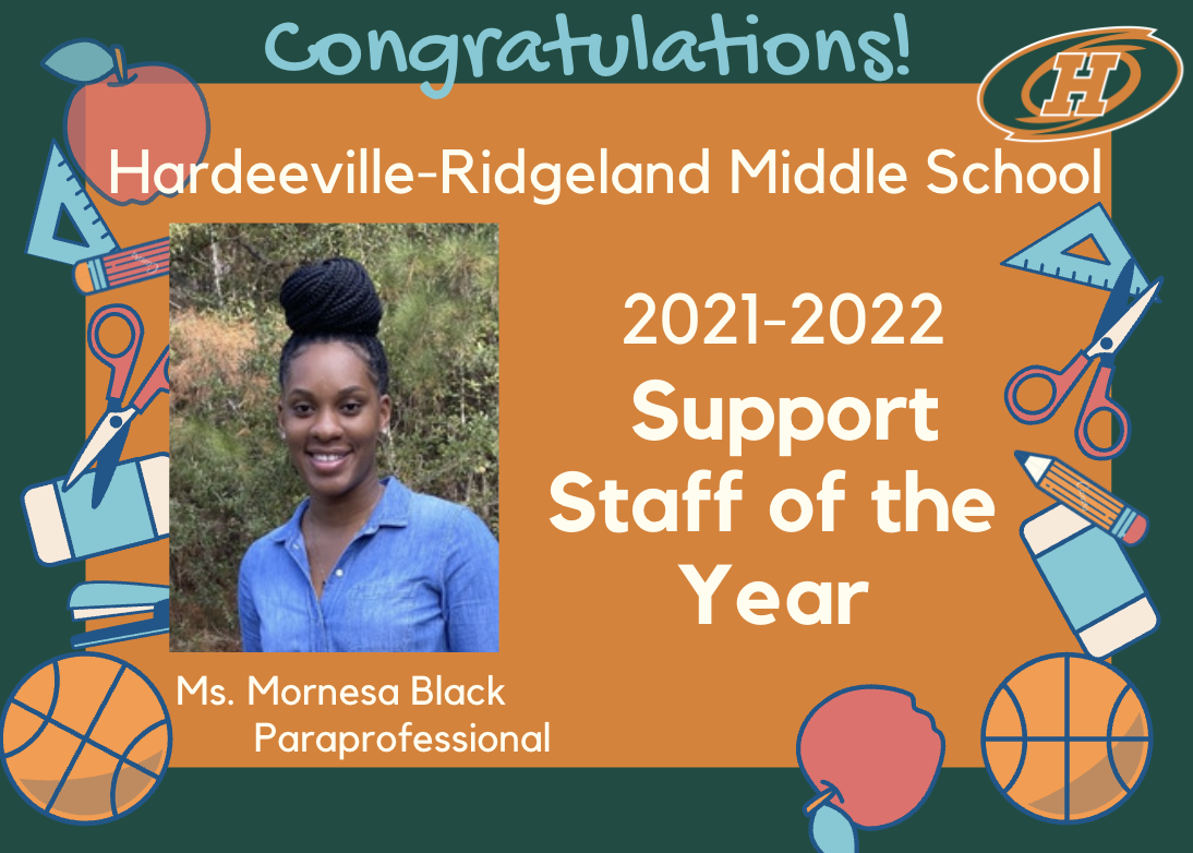 HRMS Support Staff of the Year