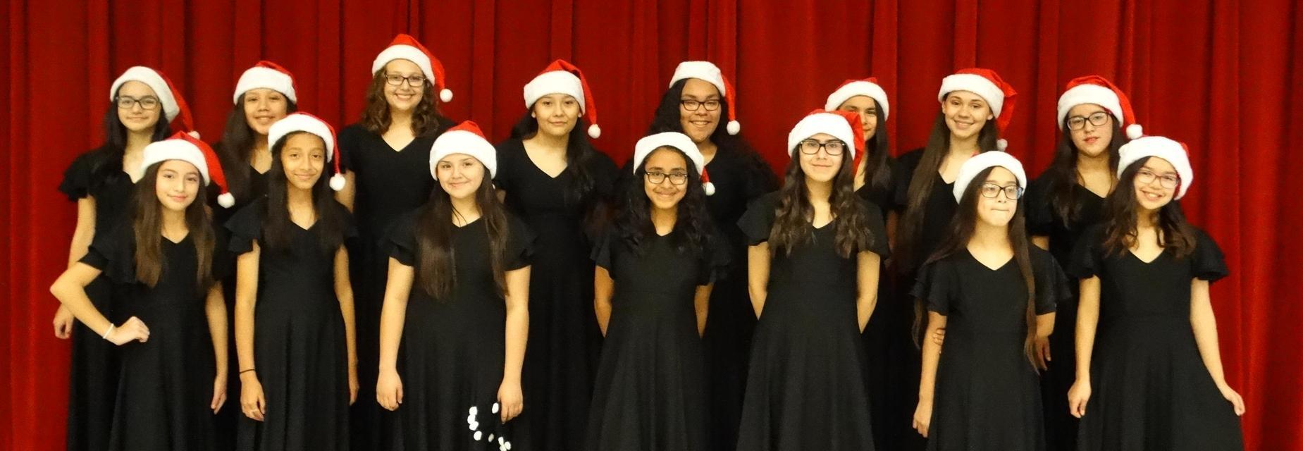 AMJH Choir performed for Waitz