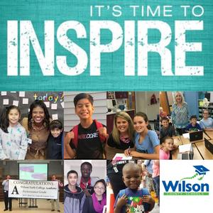 pic collage of WCS staff and students