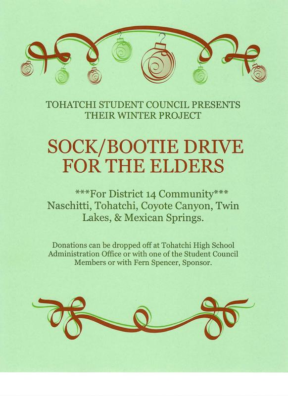 Student Council Sock/Bootie Drive Featured Photo