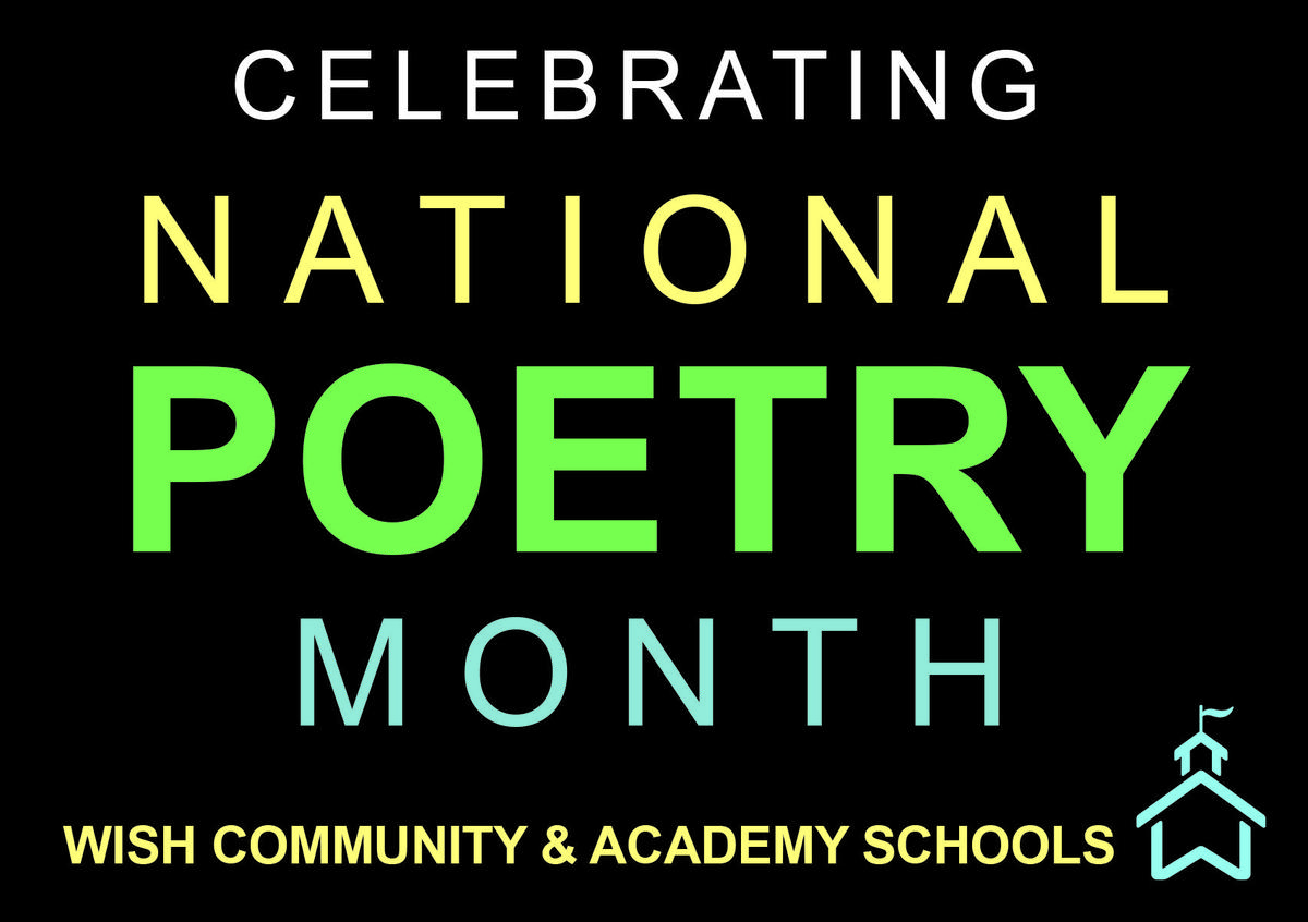 Poetry month logo