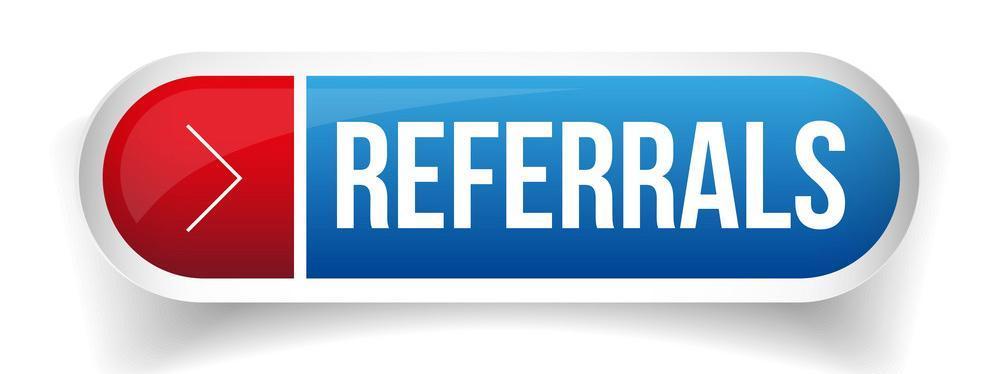 referrals button