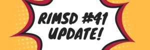 RIMSD #41 update