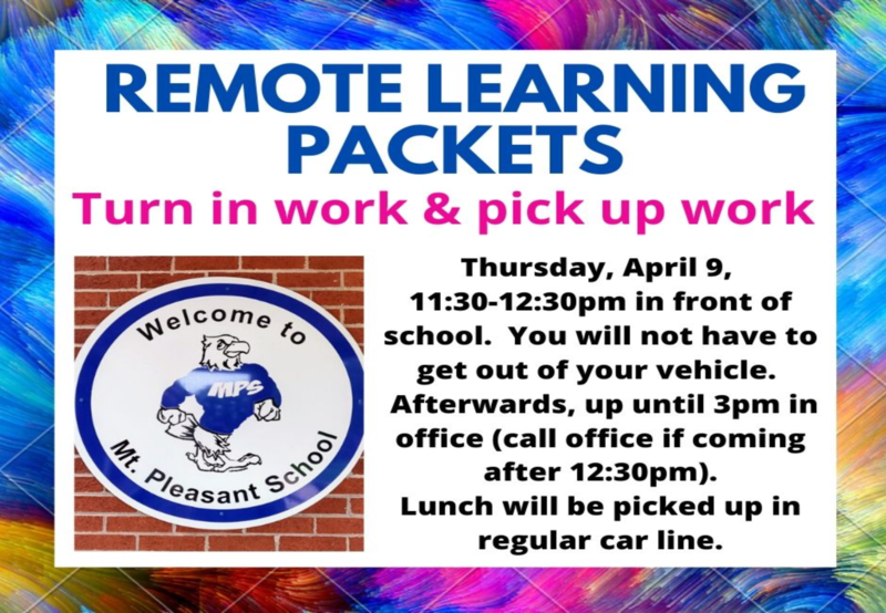 REMOTE LEARNING PACKETS Thumbnail Image
