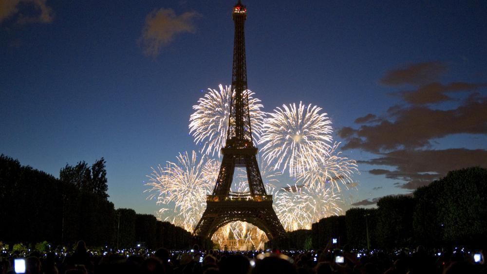 la Fête Nationale à Paris, 14 Juillet