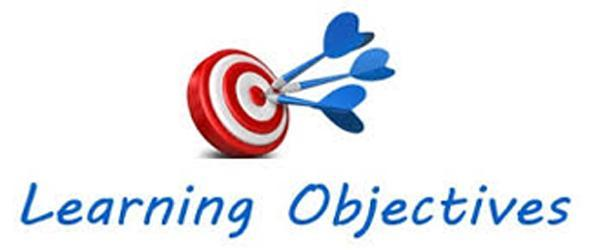 learning objectives clipart