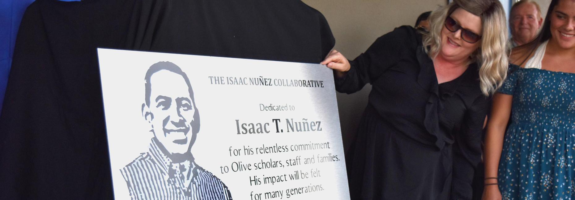Isaac Nunez dedication