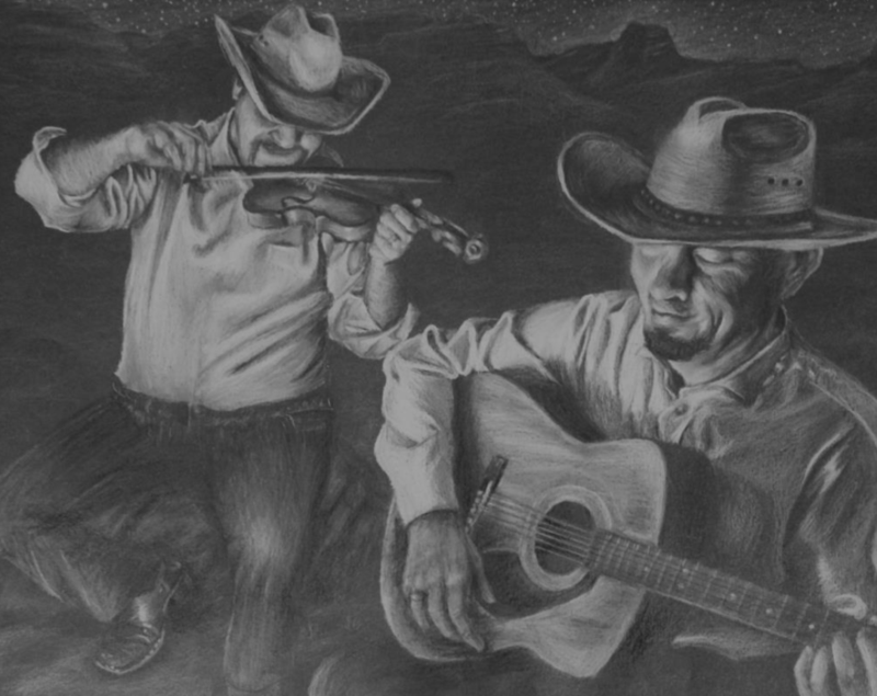 Rodeo Art by Marie Pierce (THS)