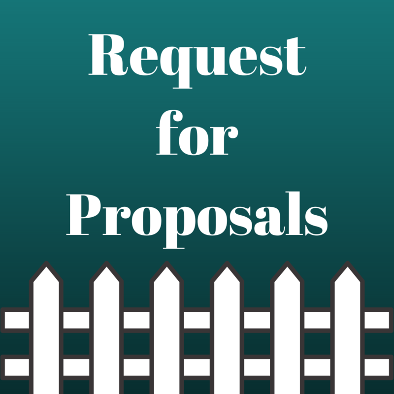 request for proposals graphic