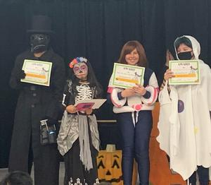 chool students show their love of reading, as they dress as their favorite literary characters