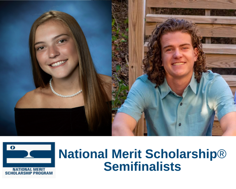 Two STS Alumni  are NMSP Semifinalists