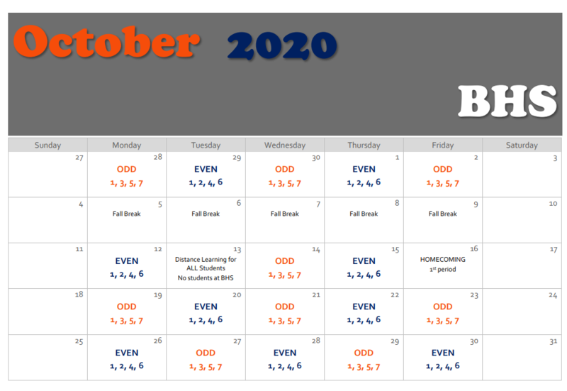 Orange and Blue Day Calendar Thumbnail Image