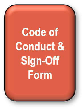 Code of Conduct & Sign Off Form