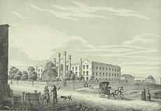 #ThrowbackThursday: 1855 lighograph image of the school