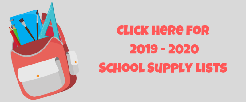 2019-2020 School Supply Lists Thumbnail Image