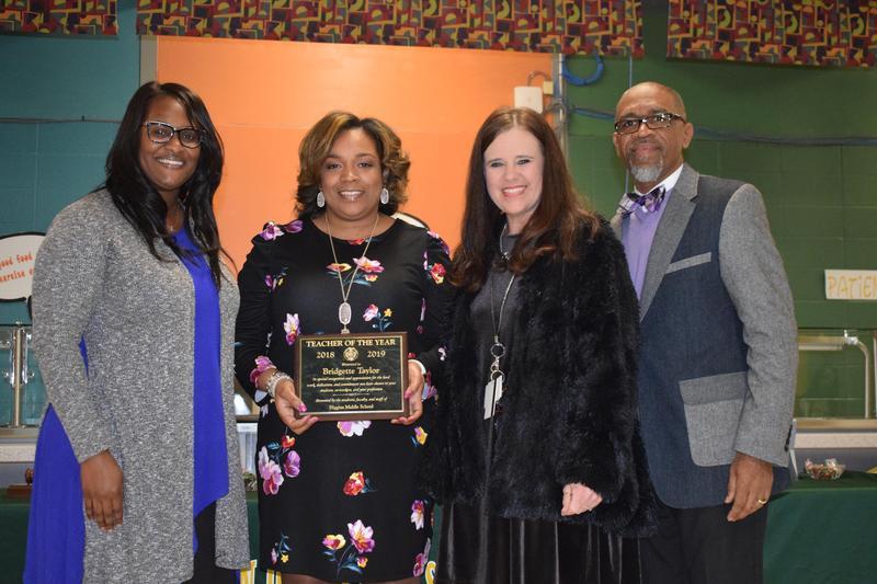 McComb School District Recognizes Bridgett Taylor as Summit Elementary Teacher of the Year