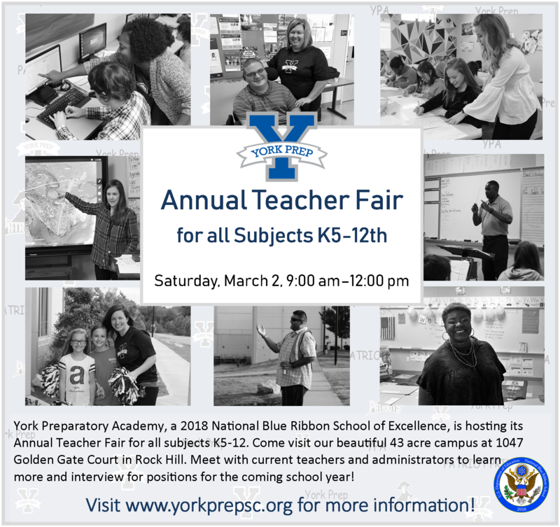Annual Teacher Fair on March 2, 9:00 am-12:00 pm Featured Photo