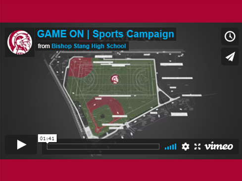 Game ON Field Campaign video