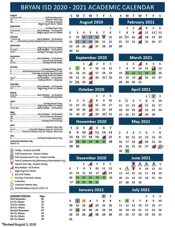 Staar Calendar 2021 School Calendar, Testing & Fine Arts/Athletics Events