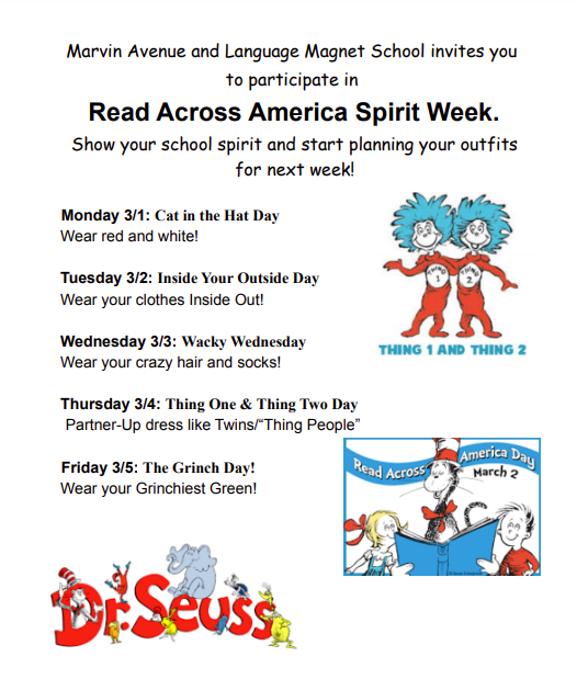 Dr. Seuss Read Across America Week, March 1-5 Thumbnail Image