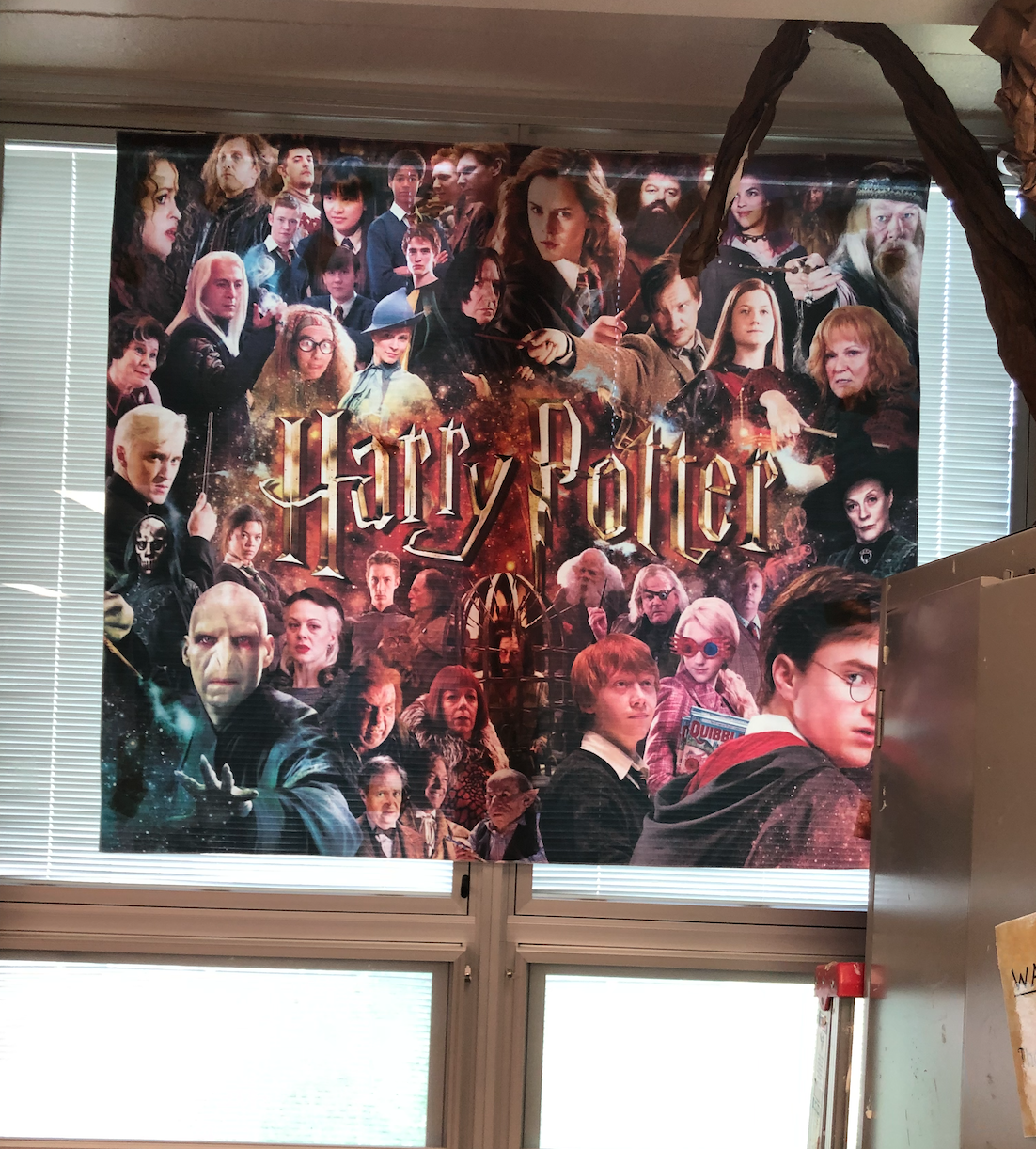 Just a good-looking tapestry of some AMAZING people. (Yes, I know they are fictional, but...)