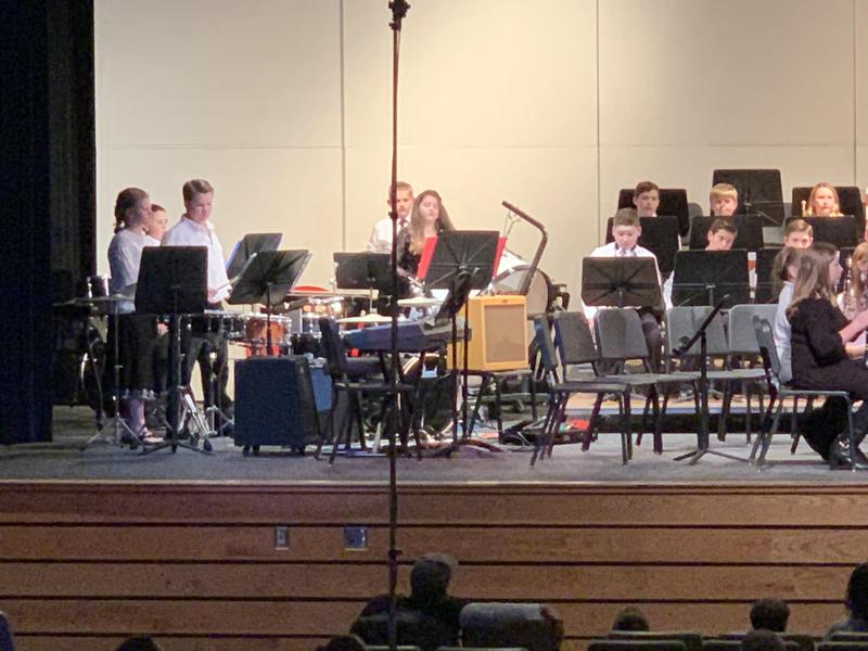 Pic of KMS Band in concert