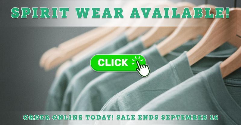 Order Your Spirit Wear Online Today!