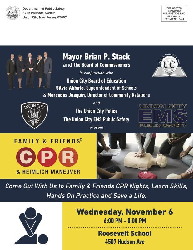 CPR classes flyer