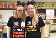 Mrs. Capello and Mrs. Lehman